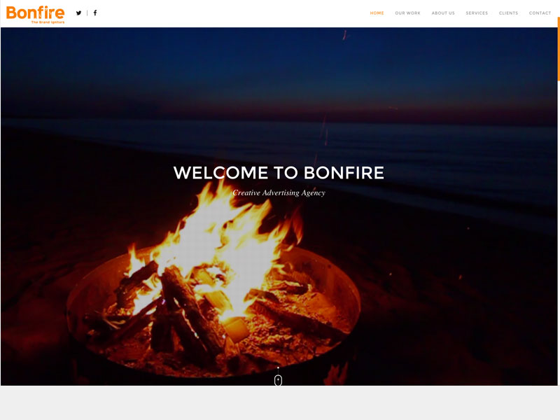 Bonfire Website
