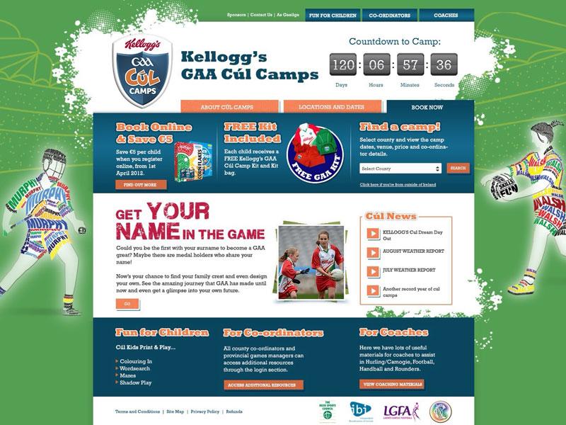 GAA Cúl Camps